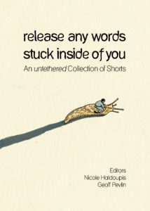 Release any words stuck inside of you book cover
